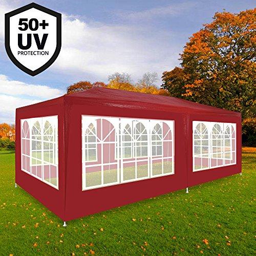 3x3m Festzelt Bierzelt Partyzelt Strandzelt Gartenzelt Zelt Pavillon UV-Schutz