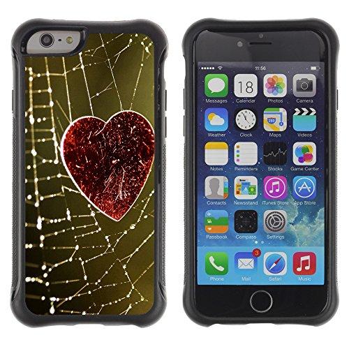 Graphic4You Beautiful Love Design Shockproof Anti-Rutsch Weichen Hülle Case Tasche Schutzhülle für Apple iPhone 6 / 6S Design #11