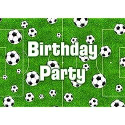 Fußball-Thema-Geburtstags-Party Einladungen Einladungen Kinder Kinder Mädchen/Jungen i010