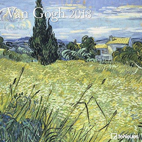 Van Gogh 2018 - Kunstkalender 2018, Wandkalender, Broschürenkalender, Post-Impressionismus  -  30 x 30 cm