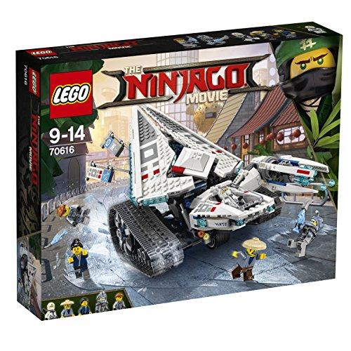 Lego Bruco Ghiaccio, Ninjago 70616 Zanes