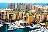 View Of Fontvieille Monaco Europe Home Decor Art Wall