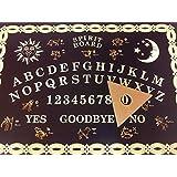 Ouija Tabla, Ouija Board, Estilo Clásico - `Negro y Dorado' - El Tabla de Los Espíritus