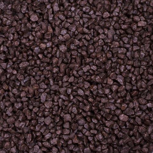Dekogranulat / Dekosteine (2-3 mm), 1 kg, kaffeebraun