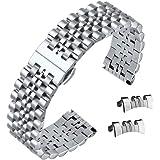 multipli estremità dell'acciaio inossidabile della vigilanza braccialetto 316L con collegamenti regolabili