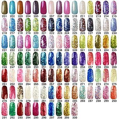 Perfect Summer 6pcs UV Led Gel Nail Polish Soak Off Multi- Color Beauty kits 10ml Collection