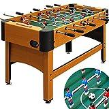 Tischfussball Kicker Fußball Tisch Tischkicker Kickertisch Fußballtisch Braun