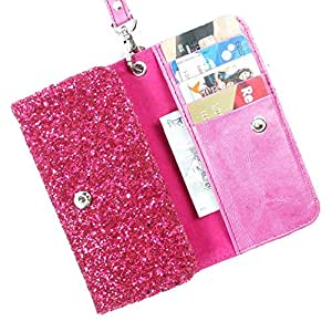DooDa Artificial Leather Case Cover With Card Slots, Wallet Pocket & strap For Asus Zenfone 5