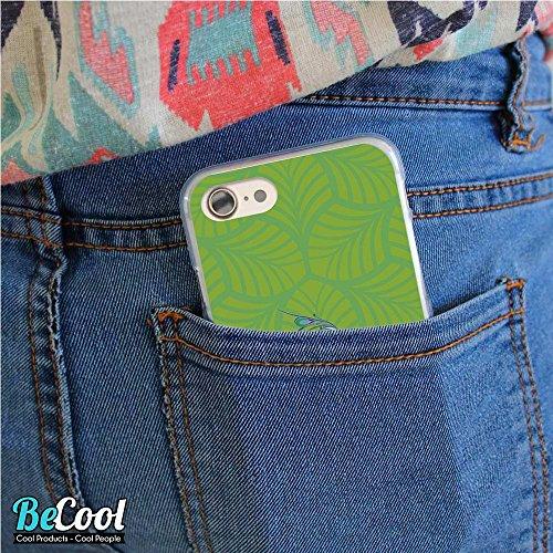 BeCool®- Coque Etui Housse en GEL Flex Silicone TPU Iphone 8, Carcasse TPU fabriquée avec la meilleure Silicone, protège et s'adapte a la perfection a ton Smartphone et avec notre design exclusif. Cha L1343