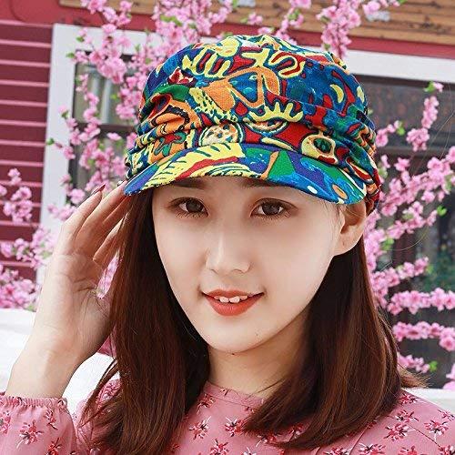 HVTKL Sombrero, mujer, sombrero de primavera y verano, estilo étnico,