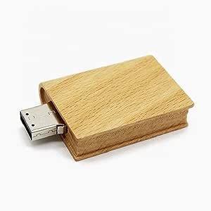 Wooden Book Usb Flash Drive 8gb Memory Stick Data Computers Accessories