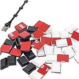 Kabelhouder Bureau Kabel Clip Muur Kabel Bevestigings Clip Kabelhouder Zelfklevend Multifunctionele Kabel Clips Cable Managem
