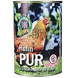 Schecker Dogreform Naßfutter Huhn Pur 6x410g getreidefrei glutenfrei Frei von billigen Füllstoffen Wie Soja Etc.
