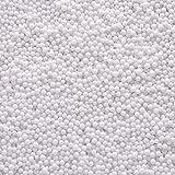 Oisee Styropor Schaumbälle für Schleim und Bastelbedarf 0,1-0,18 Zoll Weiß 2 Packungen (ca. 40000 PCS)