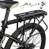 Westgirl, verstellbarer Gepäckträger für das Hinterrad mit Reflektor. Rahmenmontiert für schwerere obere und seitliche Lasten, Fahrradgepäckträger.