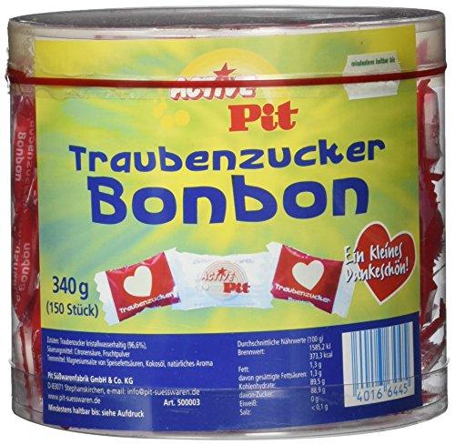 Active Pit Herz Traubenzucker 1 Pack (340 g) - Traubenzucker