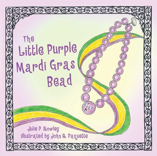 The Little Purple Mardi Gras Bead