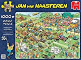 "Jan Van Haasteren - Lawn Mower Race - 1000 Piece Jigsaw Puzzle ""New September 2015"""