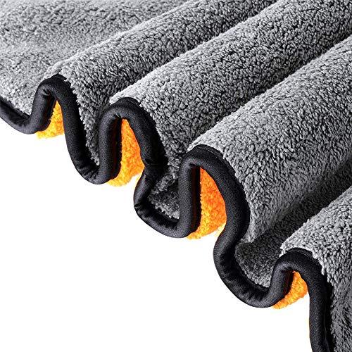 3 Stücke Auto Mikrofaser Handtuch Reinigung Auto Spezielle Handtuch Nicht Fussel Wasseraufnahme Verdickung Keine Spur Mikrofaser Autowaschtuch Eine - Auto Waschen Gallone
