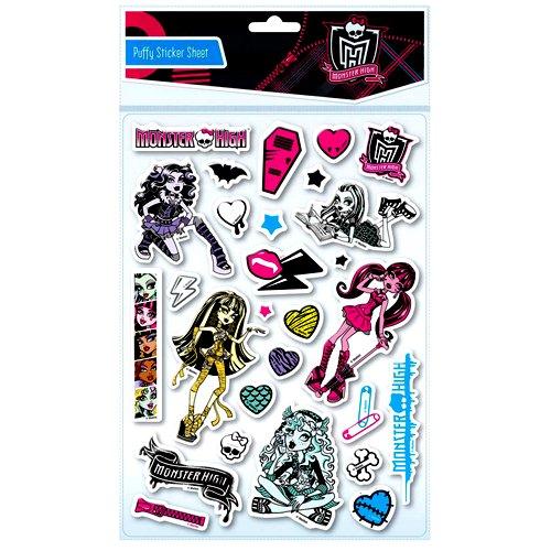 Monster High Schaum Wandsticker