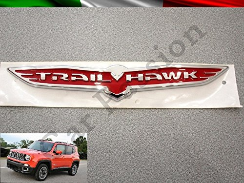 SCRITTA STEMMA LOGO JEEP RENEGADE OPENING EDITION LATERALE ORIGINALE SIDE EMBLEM