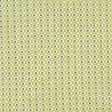 MIRABLAU DESIGN Stoffverkauf Bio Baumwolle Jersey (GOTS) Punkte weiß blau auf hellgrün (4-049M), 0,5m
