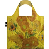 LOQI VAN GOGH Sunflowers Bag Tote da viaggio, 50 cm, 15 liters, Giallo (Sunflowers)