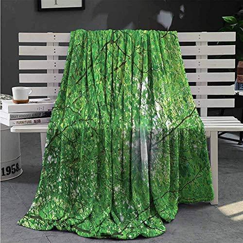 Forest Patterned Blanket Sun Mit Baumast-Ausgangsraum-Schlafzimmer-Decke