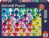 Schmidt Spiele 58219 - Farbeimer, 1.000 Teile, Klassische Puzzle