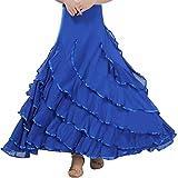 Anuka Falda de Mujer para Practicar Danza Flamenco o ...