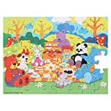 Bigjigs Baby Toys Picnic in The Park Puzzle (48-Piece)