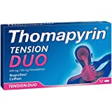 Thomapyrin Tension Duo 400 mg/100 mg Filmtabletten 12 stk
