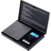 Zacro Balance digitale de poche 1000g x 0.1g, Balance de Cuisine, Balances de bijoux Mini Balance Electronique de Poche…