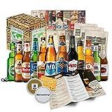 Beer Kit Regalo. Assortimento delle migliori varietà di birra. Dettaglio originale per l'uomo birra. Original Natale, compleanno, Capodanno, anniversario Reyes