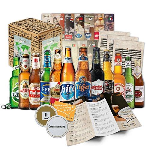 Beer Kit Regalo. Assortimento delle migliori varietà di birra. Dettaglio originale per luomo birra. Original Natale compleanno Capodanno
