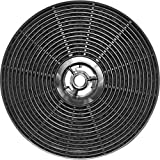 Filtro de carbón para la campana extractora de humos TEKA TINA 60/62, NR89, XT89, C601, C602, CEF62, CEF92, C901, C902, CNL1001, CNL2002, Modell C1C - Accesorio Cappa - Pezzi en Cappe