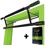MAGNOOS Barre de Traction Matador | Prime Apparail de Musculation pour la Porte | Amovible, sans Visserie ou Fixation