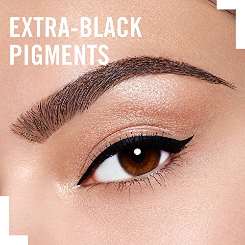 Rimmel London Scandal eyes Precision Micro Liquid Eyeliner, Waterproof and Smudge-free Formula for Vivid Eye Look, Black, 1.1 g