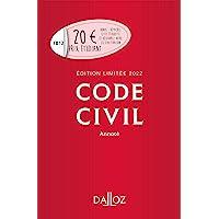 Code civil 2022 annoté. Édition limitée - 121e ed.