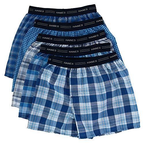 Hanes Boys Red Label Tartan Boxer 5 pack, XL-Assorted Plaid - Gap Kids Classic Shorts