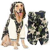 MCdream vestiti per animali domestici cani cane con cappuccio per animali cani abbigliamento cane maglione cani grandi