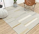 CarPET Teppich hjhy® skandinavischer Stil, modern Simplicity Geometrie Wohnzimmer Sofa Couchtisch Schlafzimmer Nachttisch Decke American 140* 200cm #4