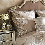 Kylie Minogue Jessa ropa de cama de lujo, BLUSH Rosado - Rosa, Square Pillowcase (1)
