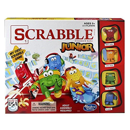 Hasbro - Juego Scrabble Junior para 2 - 4 Jugadores (B0325)