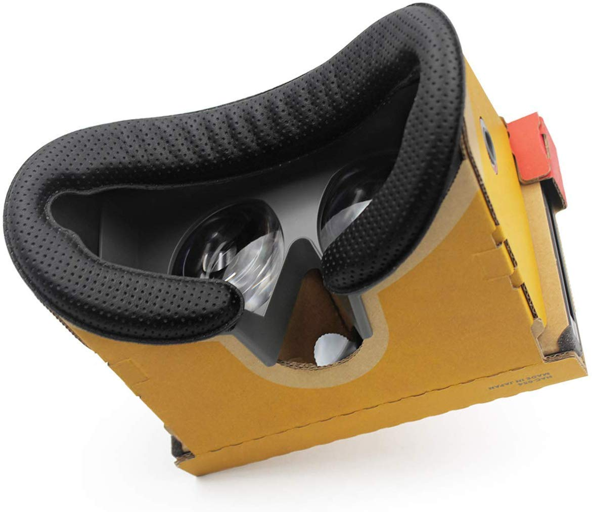 [Pack de 2] Mousses de remplacement pour Casque Nintendo Switch Labo VR Kit – Simili Cuir