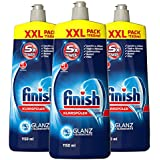 Finish Klarspüler mit Glanz und Glasschutz, XXL Pack (3 x 1150 ml)