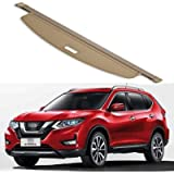 QWASZX Retractable Rear Trunk Parcel Shelf For Nissan x-trail 2014-2017, Shielding Security Panel Roller Blind Luggage…