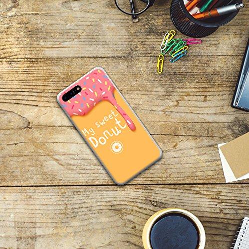 iPhone 7 Plus Hülle, WoowCase Handyhülle Silikon für [ iPhone 7 Plus ] Astronaut Gay Flagge Handytasche Handy Cover Case Schutzhülle Flexible TPU - Transparent Housse Gel iPhone 7 Plus Transparent D0564