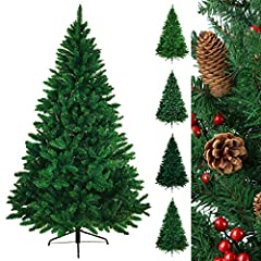 Idea Regalo - Albero di Natale artificiale WONDERLAND in 5 misure e 3 colori di BB Sport, Colore:verde medio; 180 cm (1.030 punte)