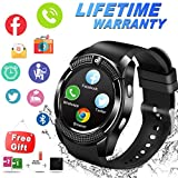 Smart Watch Android, Bluetooth Smartwatch Touch Screen Orologio Intelligente Telefono Watch Sports Smart Braccialetto Wrist Watch...